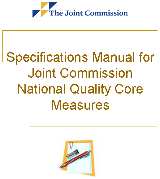 Copyright, the joint commission performance measurement for.